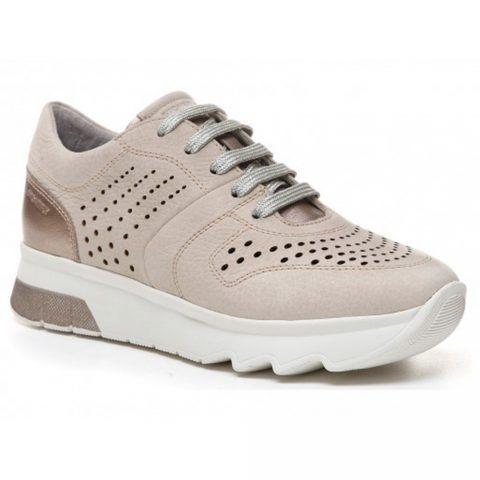 Sneaker Donna Stonefly Spock 10 in Nabuk Marrone - 211053 11E