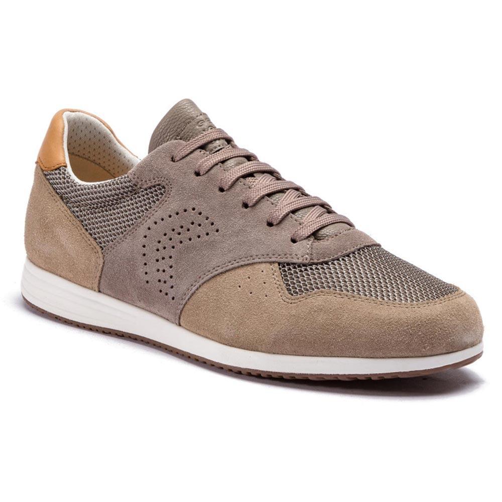 U926NA  Geox  sneakers basse  uomo  grigio
