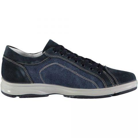 Sneaker Uomo Igi&Co in Pelle Blu Scuro - 3116500