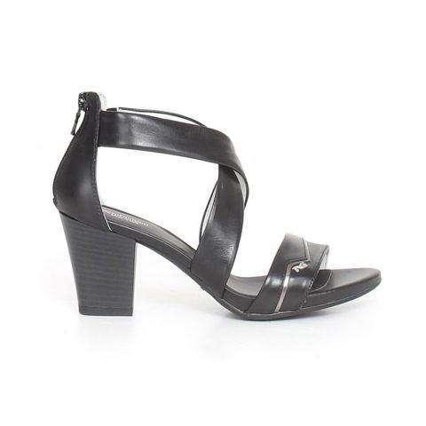 Sandalo Donna Nero Giardini in Pelle Nero - P908105D100