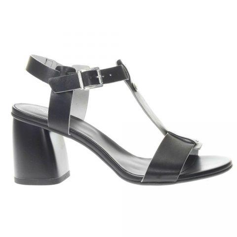 Sandalo Donna Nero Giardini in Pelle Nero - P908195D100