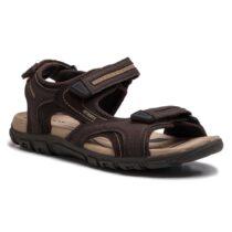 Sandalo Uomo Geox Strada Marrone - U8224D050AUC0705