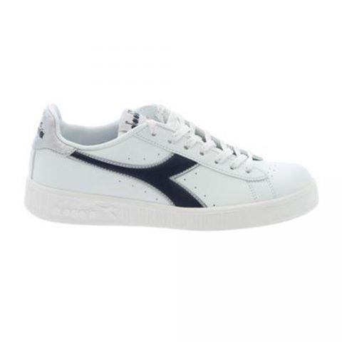 Sneaker Donna Diadora Game P Wn Bianca e Blu - 10117309701C4656