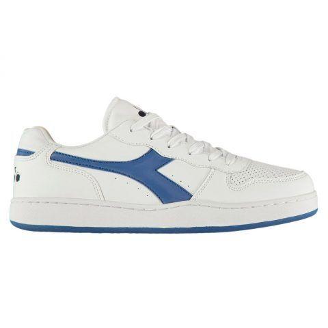 Sneaker Uomo Diadora Playground Bianca e Blu - 1011723190160035