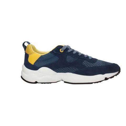 Sneaker Uomo Lumberjack in Camoscio Blu - SM58805002M0781