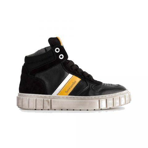Sneaker Alta Bambino Nero Giardini Teens Nera - A933650M100
