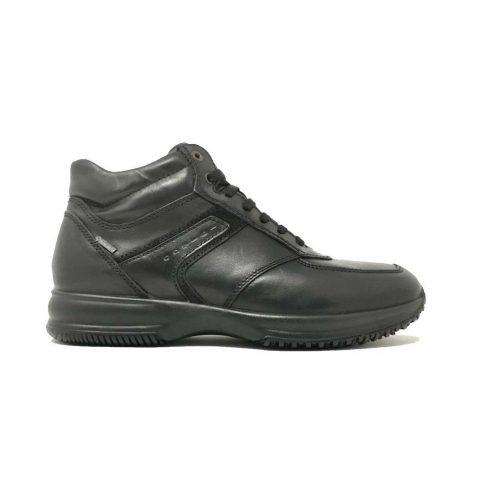 Sneaker Alta Uomo Igi&Co in Pelle Nera - 4112900