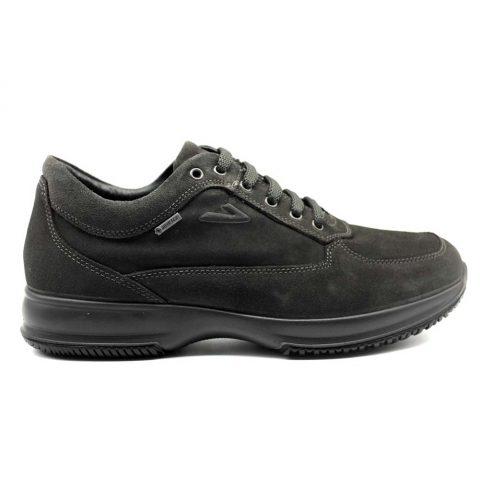 Sneaker Uomo Igi&Co in Camoscio Grigia - 4112855