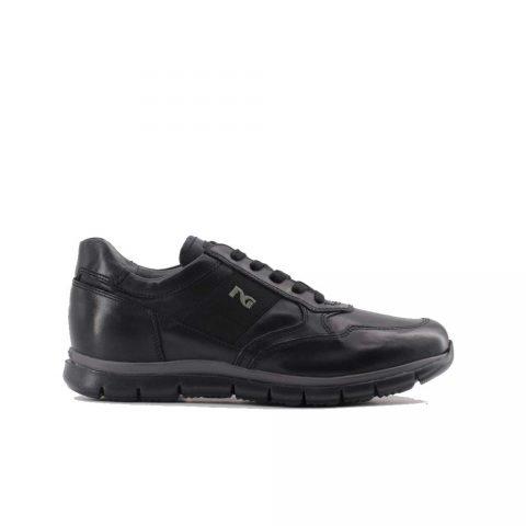 Sneaker Uomo Nero Giardini in Pelle Nera - A901210U100
