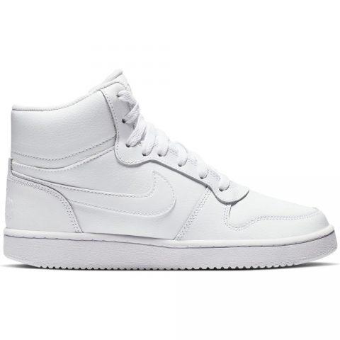 Sneaker Alta Donna Nike Ebernon Mid Bianca - AQ1778100
