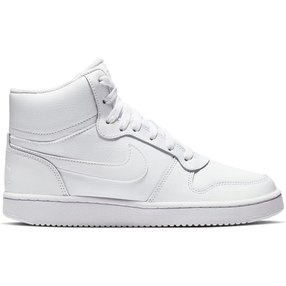 Sneaker Alta Donna Nike Ebernon Mid Bianca