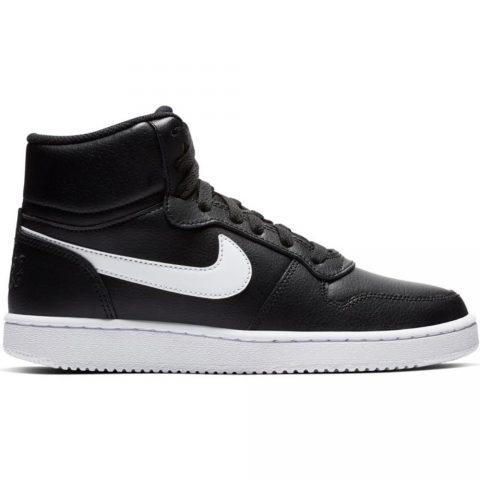 Sneaker-Alta-Donna-Nike-Ebernon-Mid-Nera---AQ1778001