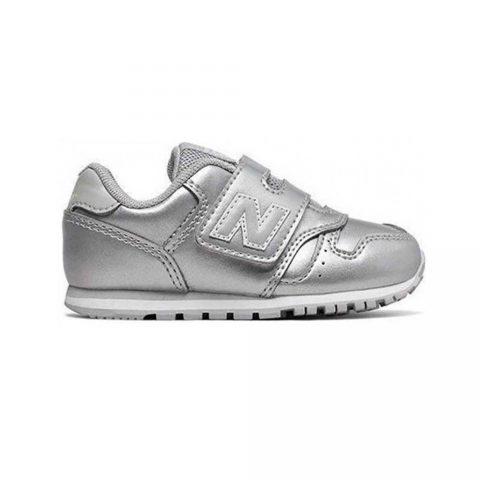 Sneaker Bambino New Balance Kids in Tessuto Argento - NBIV373GC