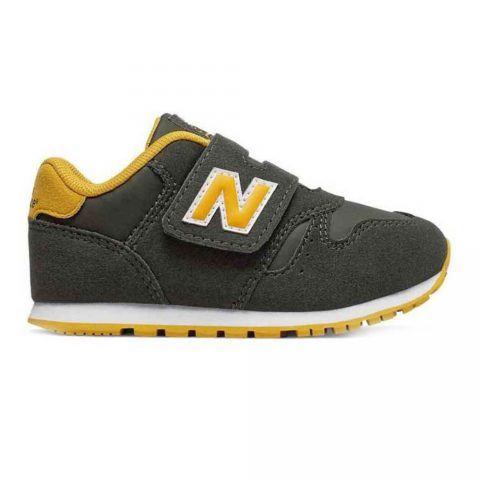 Sneaker Bambino New Balance Kids in Tessuto Verde - NBIV373FD