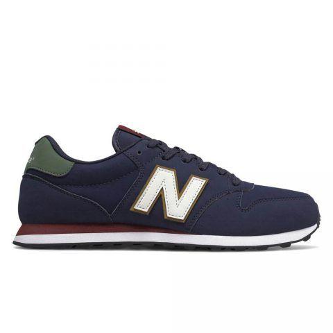 Sneaker Bassa Uomo New Balance in Tessuto Sintetico Navy - NBGM500WBP