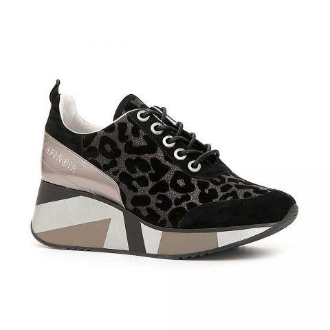 Sneaker Donna Cafè Noir in Camoscio Maculato - DH955