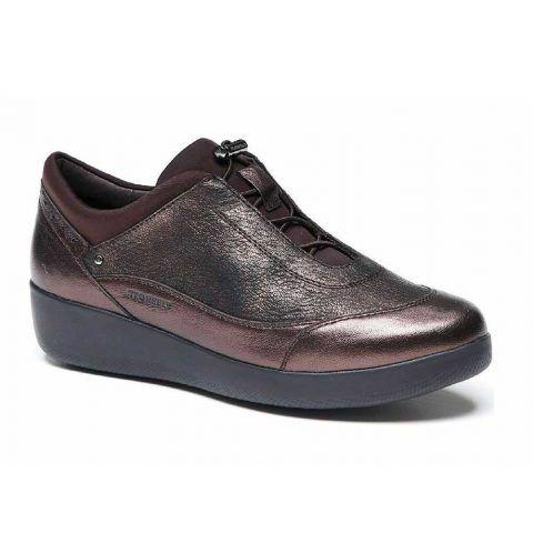 Sneaker Donna Stonefly Paseo IV Marrone Laminato - 212052410
