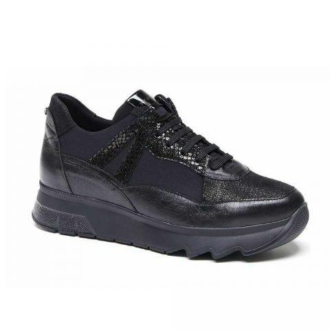 Sneaker Donna Stonefly Spock 13 Nera - 212774000