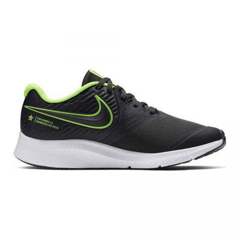 Sneaker Ragazza Nike Star Runner 2 Nera e Verde - AQ3542004
