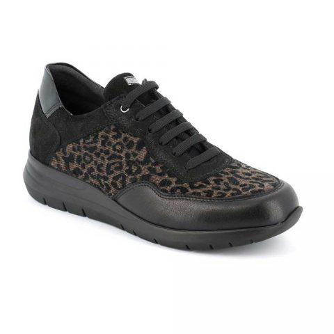 Sneaker Donna Grunland Call Leopardata - SC475478