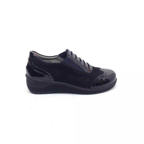 Sneaker Elegante Donna Grunland Dape Nera - SC478768