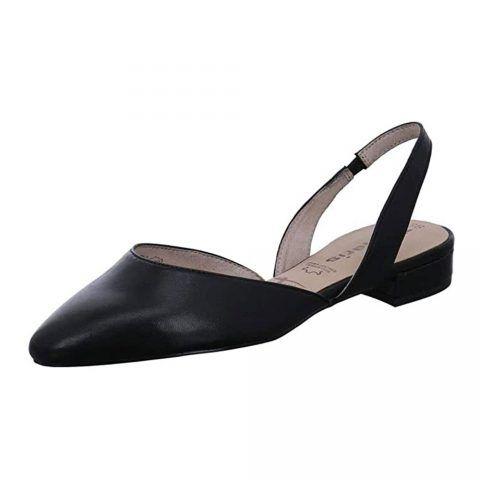 Sandalo Donna Tamaris in Pelle Nero - 112940124003