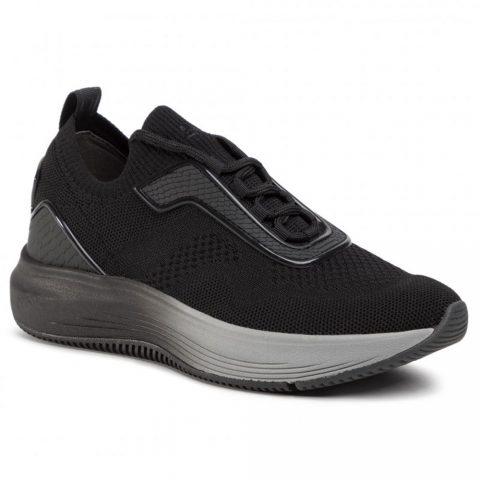 Sneaker Donna Tamaris in Tessuto Nera - 112373224001