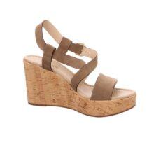 Sandalo Donna Nero Giardini Castoro - E012410D405
