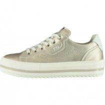 Sneaker Bambina Nero Giardini Teens in Pelle Platino - E031560F725