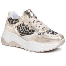 Sneaker Donna Igi&Co con Zeppa Leopardate - 5168077