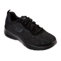 Sneaker Donna Running Skechers in Tessuto Nera - 12963BBK