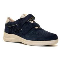 Sneaker Donna Stonefly Aurora 6 Velour Blu - 211268144
