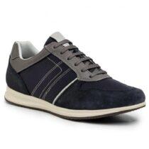 Sneaker Uomo Geox in Camoscio Avio - U02H5C02214C4067