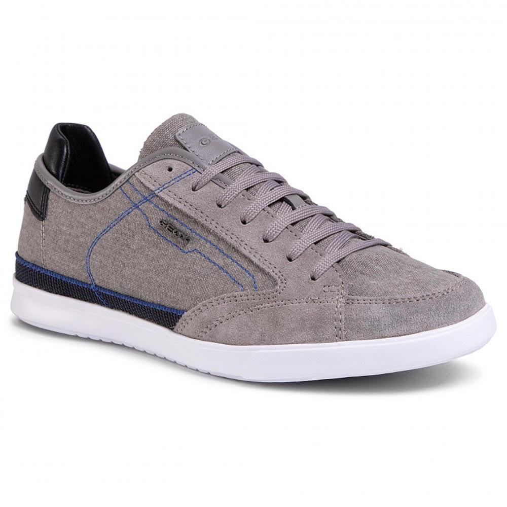 Sneaker Uomo Geox in Tessuto Grigia