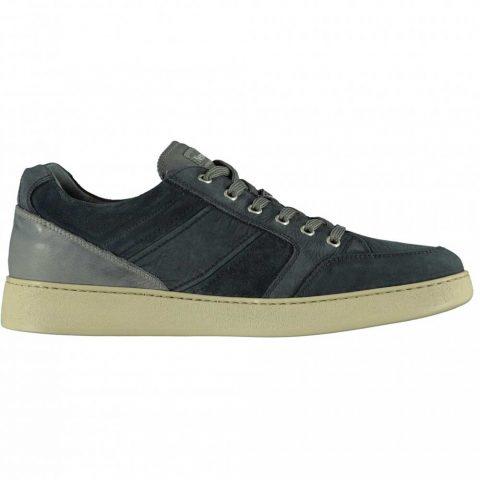 Sneaker Uomo Nero Giardini in Camoscio Blu - E001563U200