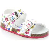 Sandalo Bambina Grunland Junior Afre Bianco Fantasia - SB038040