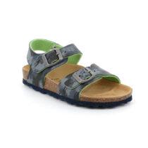 Sandalo Bambino Grunland Junior Luce Blu Lime - SB122640