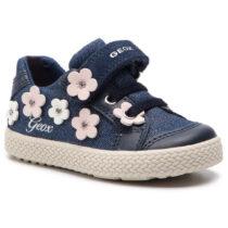 Sneaker Bambina Geox B Kilwi G. A Glitter Blu - B92D5A0LGBCC4005