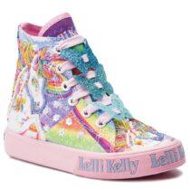 Sneaker Bambina Lelli Kelly Unicorno Multicolore - LK9090