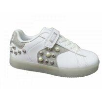 Sneaker Bambina Primigi Bianca con Luci e Glitter - 5458700