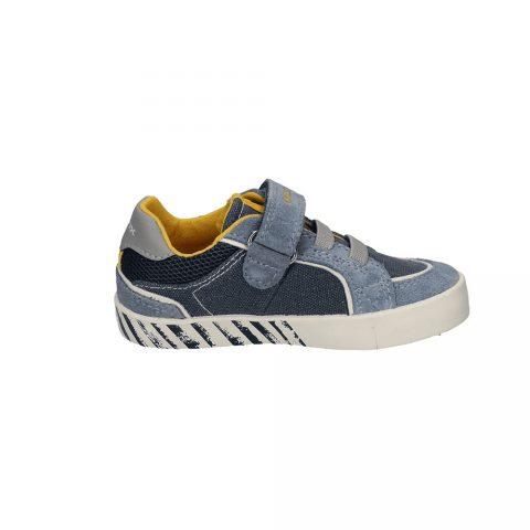 Sneaker Bambino Geox Kilwi Grigia - B02A7B0NB22C4B4S