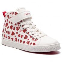 Sneaker Ragazza Geox J Ciak G. A Bianca - J9204A000ANC0050