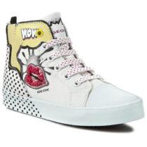 Sneaker Ragazza Geox J Ciak G. A Bianca - J6204A000AWC1000