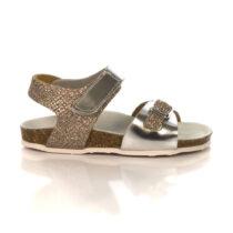 Sandalo Bambina Grunland Junior Deha Platino - SB124970