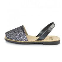 Sandalo Donna Ria Menorca Glitter Plomo - 21224S2C2