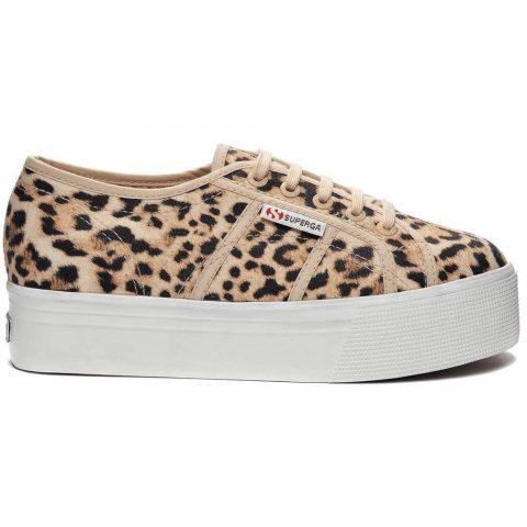 Sneaker Donna con Zeppa Beige Jaguar Superga - S007EJ02790