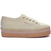 Sneaker Donna con Zeppa Beige Superga - S00C4Z02790