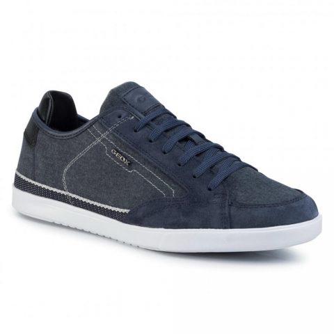 Sneaker Uomo Geox in Tessuto Navy - U022CA0NB22C4002