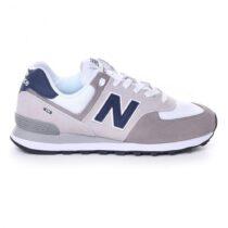 Sneaker Uomo New Balance Lifestyle Grigia e Bianca - NBML574EAG