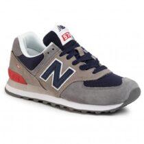 Sneaker Uomo New Balance Lifestyle Grigia e Navy - NBML574EAD